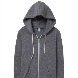 Alternative Apparel Adrien Eco-Fleece Zip Hoodie